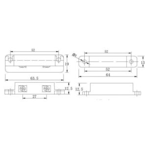 Smartec ST-DM121NC-BR Извещатель магнитоконтактный