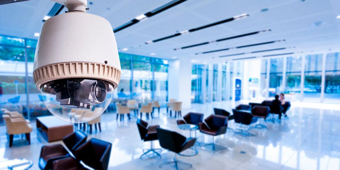 Установка видеонаблюдения в офисе под ключ