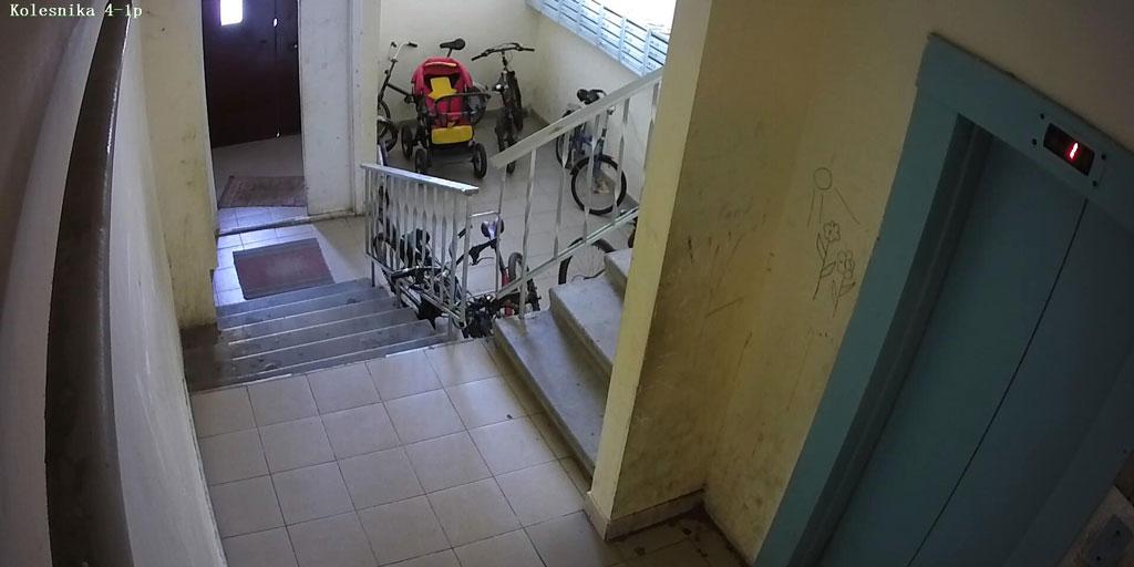 Установка видеонаблюдения в подъездах жилых домов