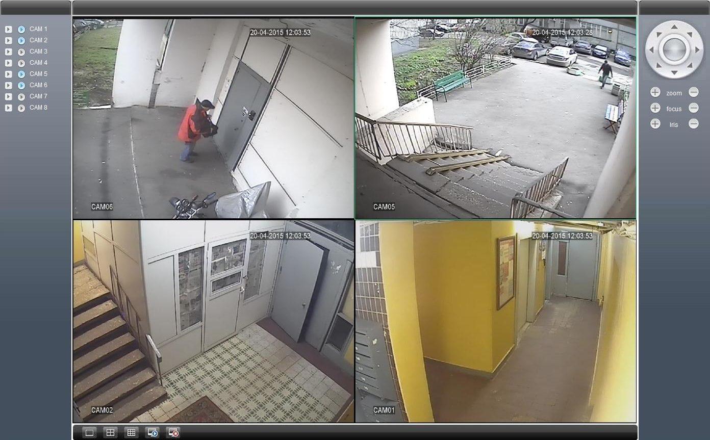 Камеры видеонаблюдения для квартиры, скрытые камеры